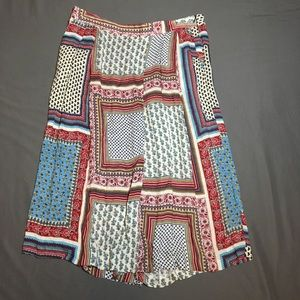Zara Basic printed pants size Large w/ pockets